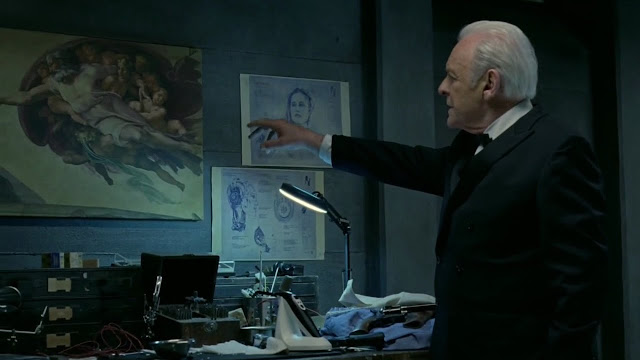 Creation of Adam, Michelangelo, Westworld, HBO, Anthony Hopkins