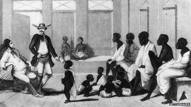 Importación de esclavos africanos en Brasil