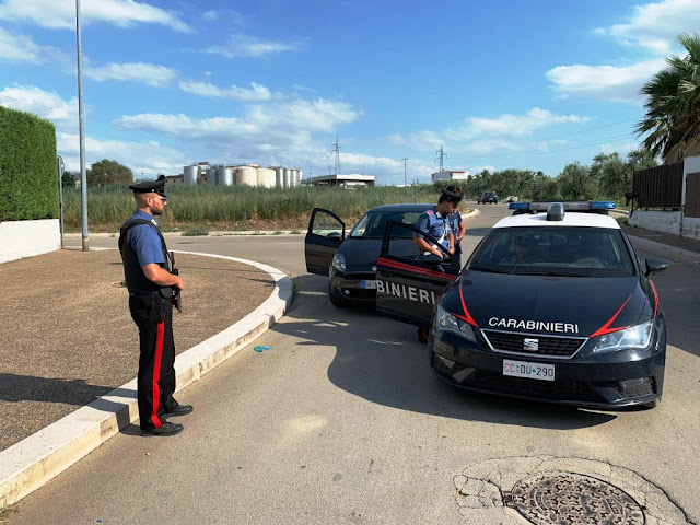 Violazioni anti COVID-19. A San Severo controlli a tappeto con sanzioni dei Carabinieri