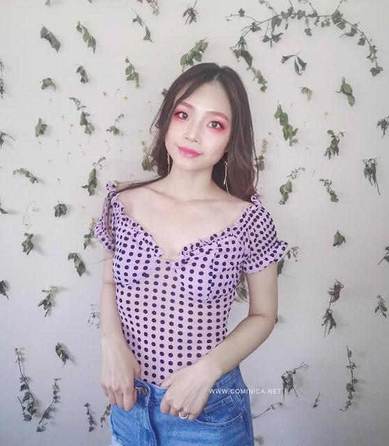 polkadot lilac