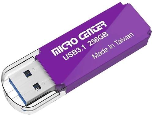 Review INLAND 256GB USB 3.1 Gen1 Flash Drive