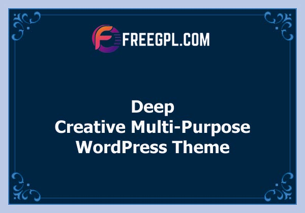 Deep – Creative Multi-Purpose WordPress Theme Nulled Download Free