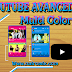 YOUTUBE AVANCED + MICROG MULTI COLOR ((NEGRO, AZUL, ROSADO))