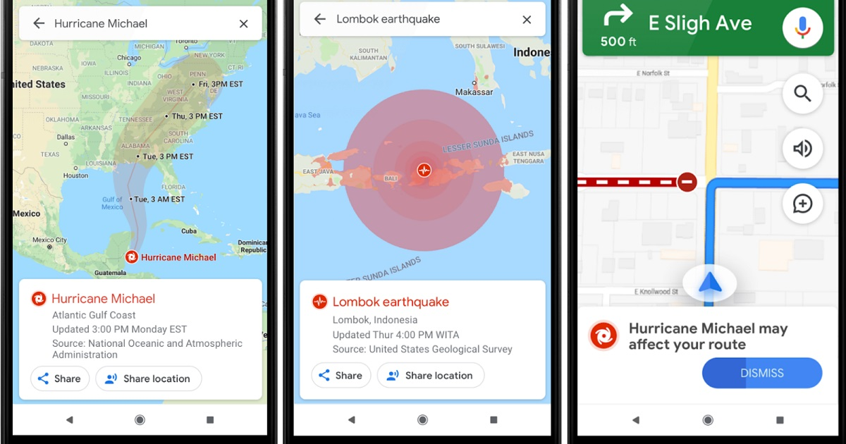 Googles Sos Alerts Is Now Better Than Ever With The Required - Google-maps-western-us
