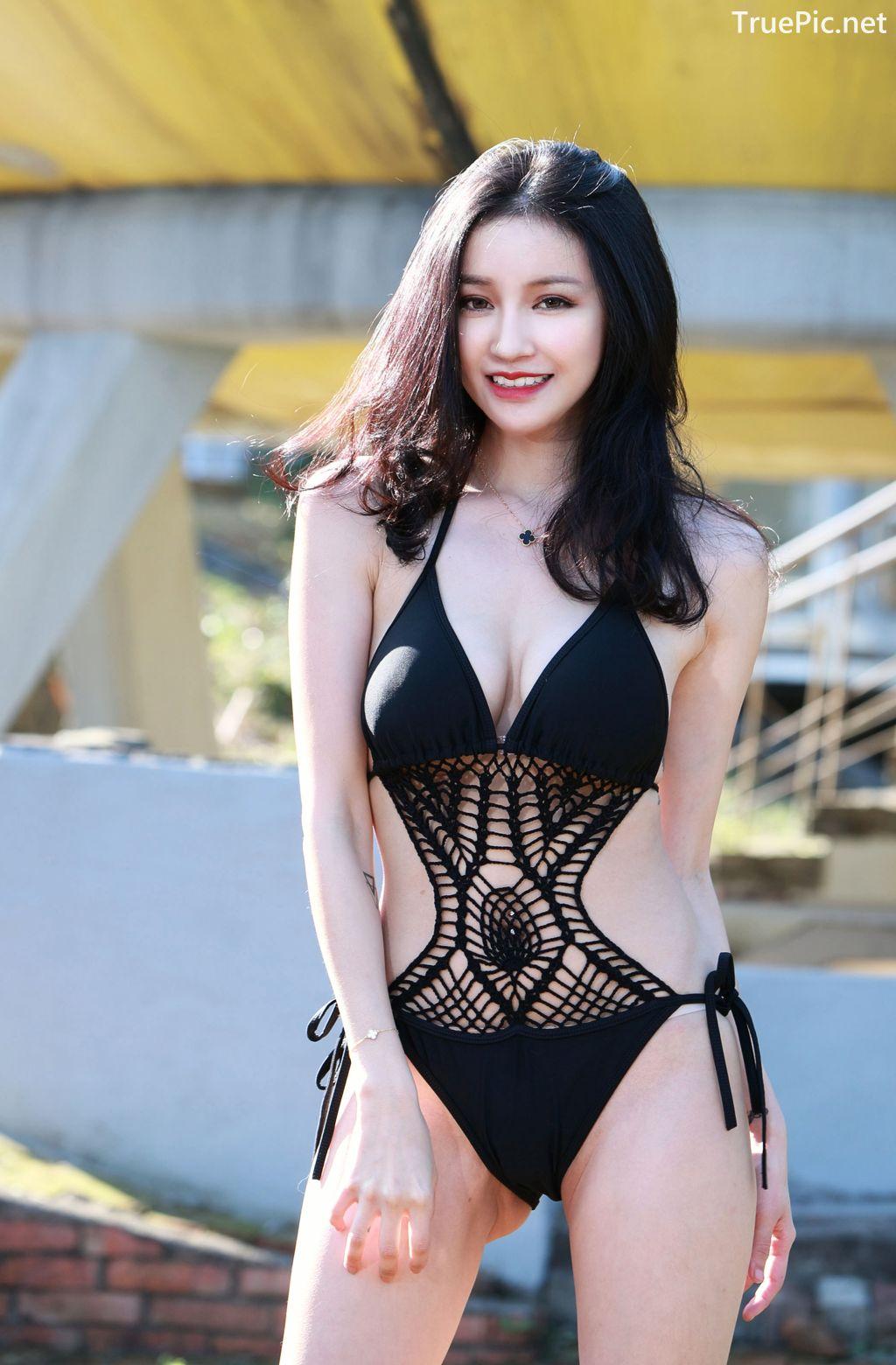Image-Taiwanese-Model-艾薉-Long-Legs-And-Lovely-Bikini-Girl-TruePic.net- Picture-9