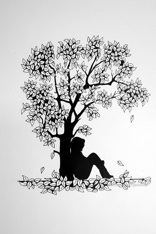 rysowanie Zentangle