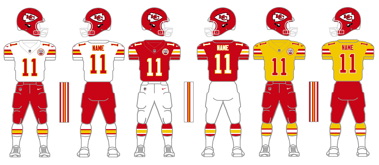 The Gridiron Uniform Database Old Is New Again Or What In Sam Hill Is A Clash Jersey Part I Updated