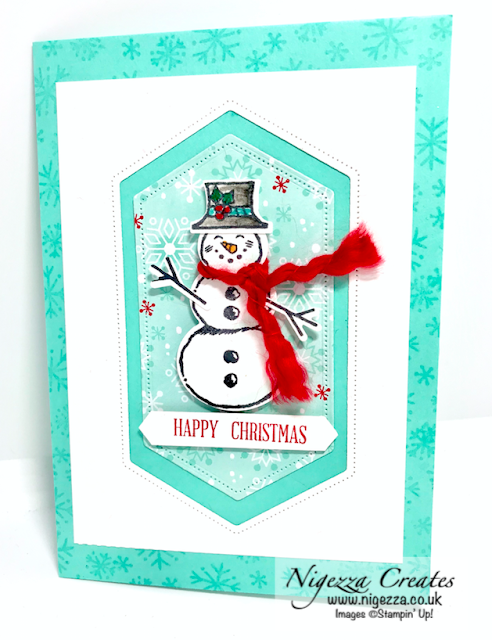 Snowman Season Stampin Up - Let It Snow