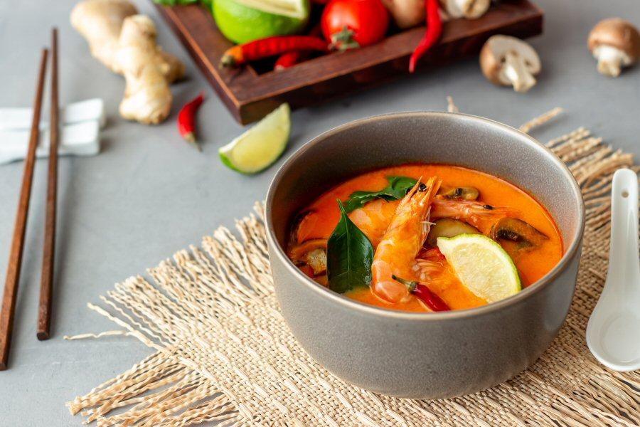 Thai food: Tom yam