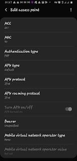 MTN Free Browsing APN Settings