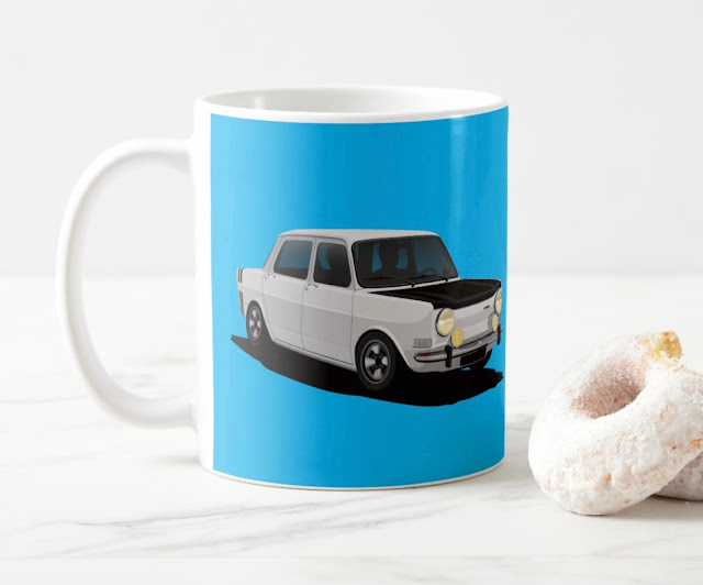 Simca 1000 Rallye 2 image coffee mug