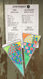 This back to school math pennant and glyph is a perfect way to start the new school year with a new group of kids. There are multiple versions of this math pennant included and glyph directions if you'd like to give more structure to the activity. The finished pennants are a colorful addition to your math classroom decor and make for a welcoming classroom.