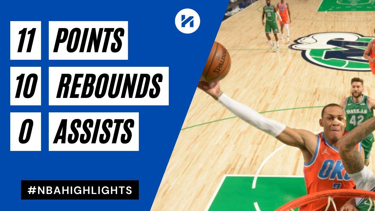 Darius Bazley 11pts 10reb vs DAL | March 3, 2021 | 2020-21 NBA Season