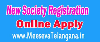 Registration of Society Online Apply on Meeseva Center