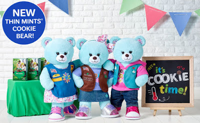 Girl Scout Themed Party now at Build a Bear! Book your troop trip today!