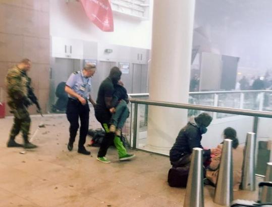 isis suicide bombers belgium