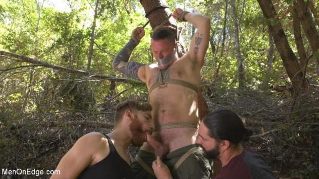Hard Woods Max Cameron Suspended and Tormented in California Redwoods