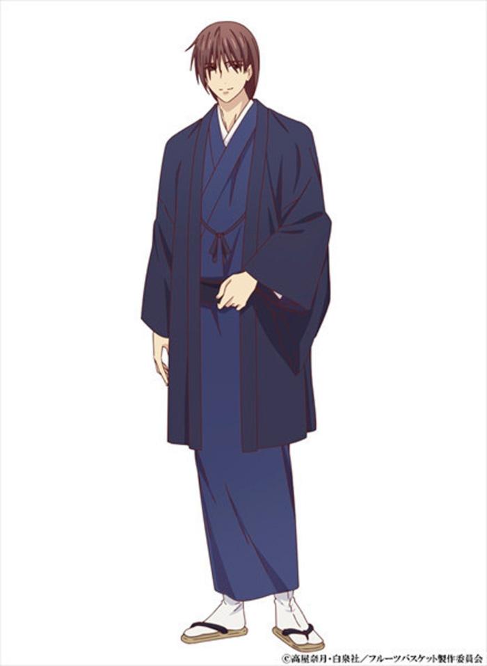 Fruits Basket anime (2019) - Kazuma Soma (Toshiyuki Morikawa)