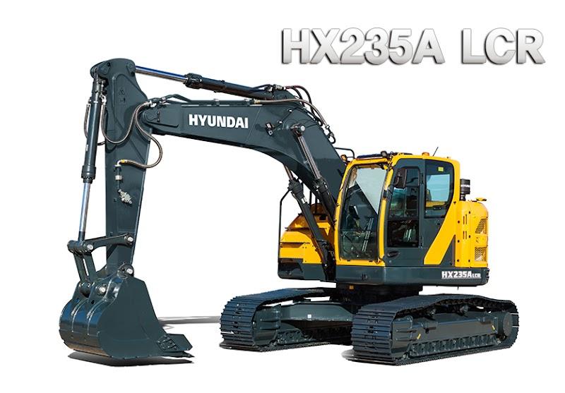 Hyundai Excavators HX235ALCR