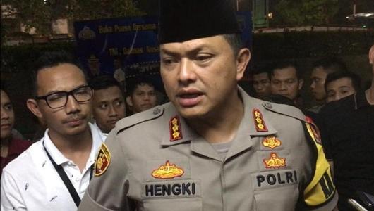 Polisi: Pelaku Ajak Lempar Kotoran ke Panser Tak Ikut Aksi 22 Mei
