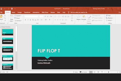 Perbedaan Format PPT, PPTX, PPS dan PPSX Di Microsoft Office Powerpoint