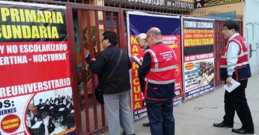 El 22% de trabajadores del sector educación labora informalmente en Lima, informó la Superintendencia Nacional de Fiscalización Laboral - SUNAFIL - www.sunafil.gob.pe