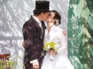 Ana Paula Arósio e marido