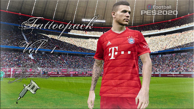 PES 2020 Tattoopack Vol. 1 by Sho9_6