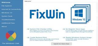 أداة, خفيفة, وقوية, لإصلاح, مشاكل, وأخطاء, ويندوز, 10, وزيادة, سرعته, FixWin