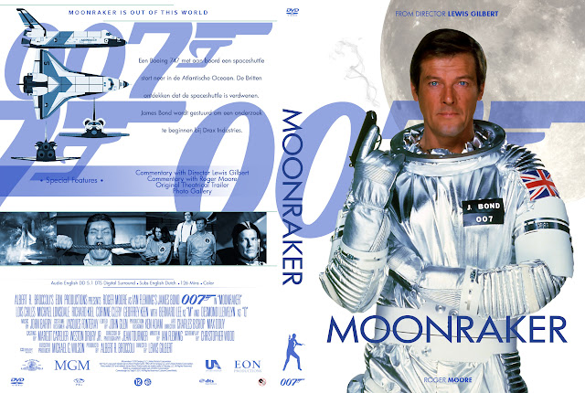 Capa DVD 007 Moonraker