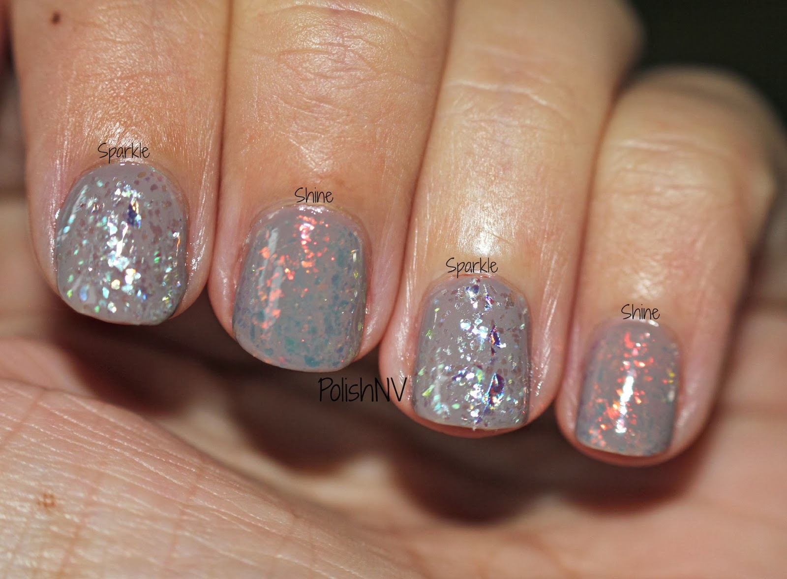 Essie Luxeffects Nail Polish Sparkle On Top Nail Ftempo