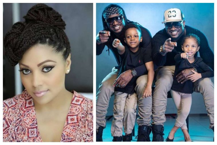 Lola Omotayo celebrates Peter and Paul on their 37th birthday