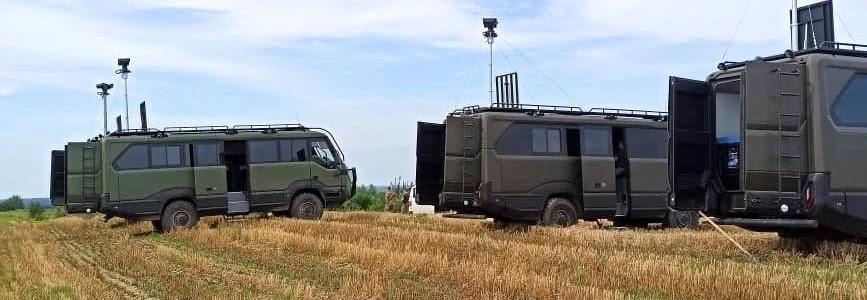 Львівський прикордонний загін отримав 4 мобільні тепловізійні комплекси на базі автобуса Torsus Praetorian
