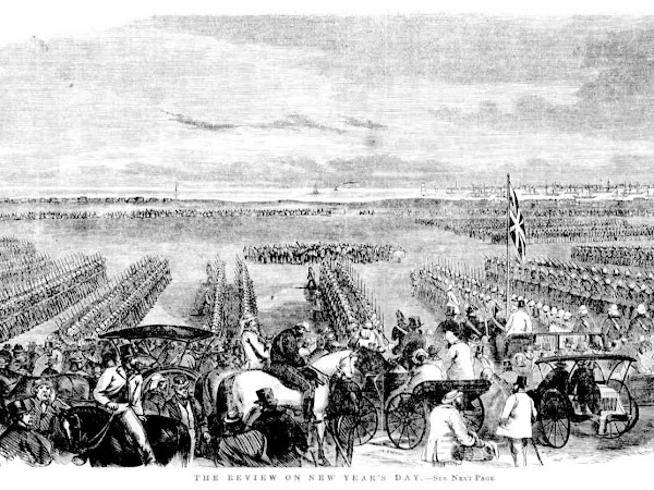 Flashback: Military Review on New Year's Day, Emerald Hill, Victoria, 1864