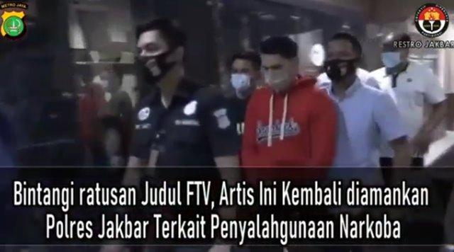 Ridho Ilahi Artis Diciduk Polisi Akibat Narkoba - IG