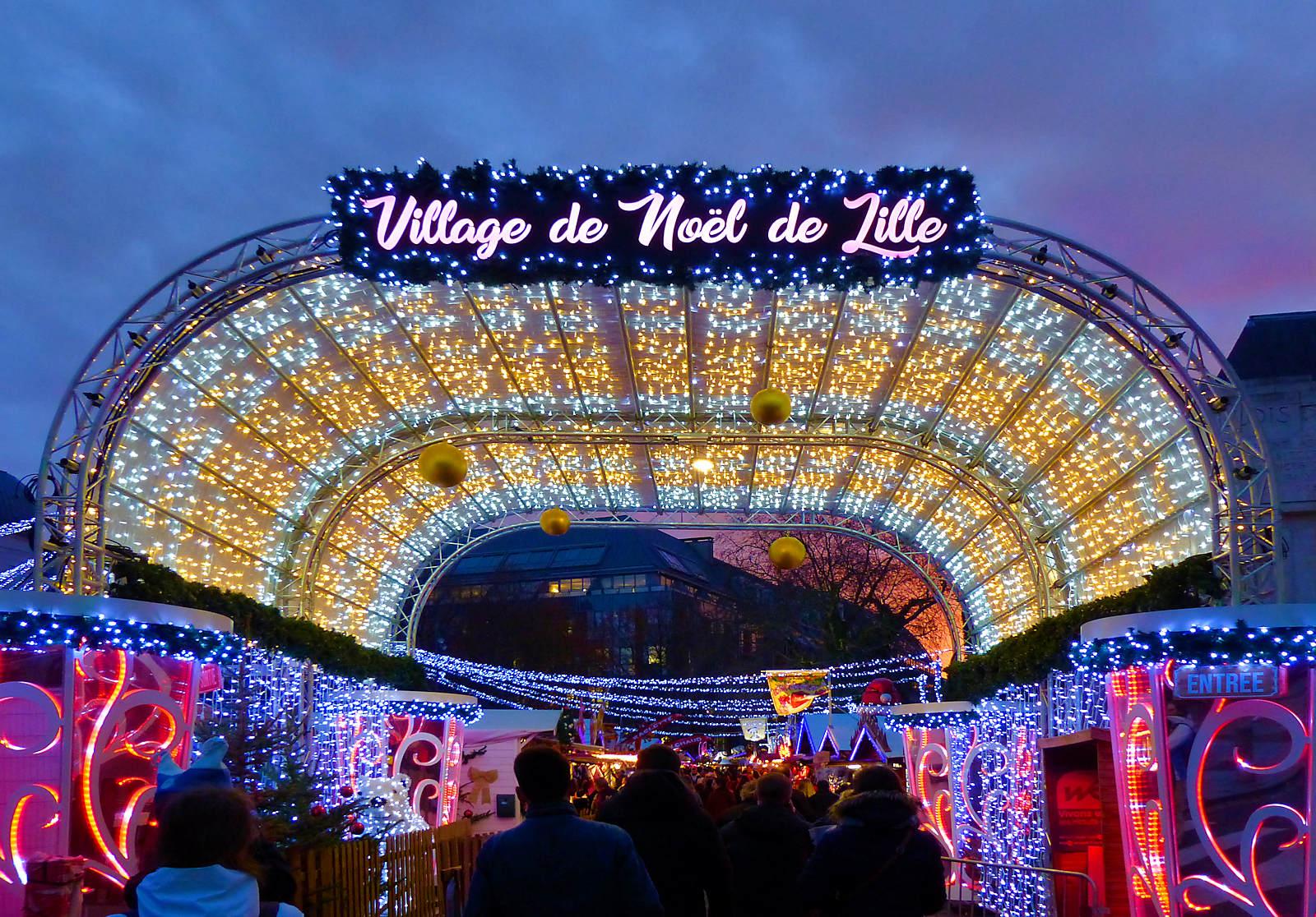 Village de Noël - Lille 2019