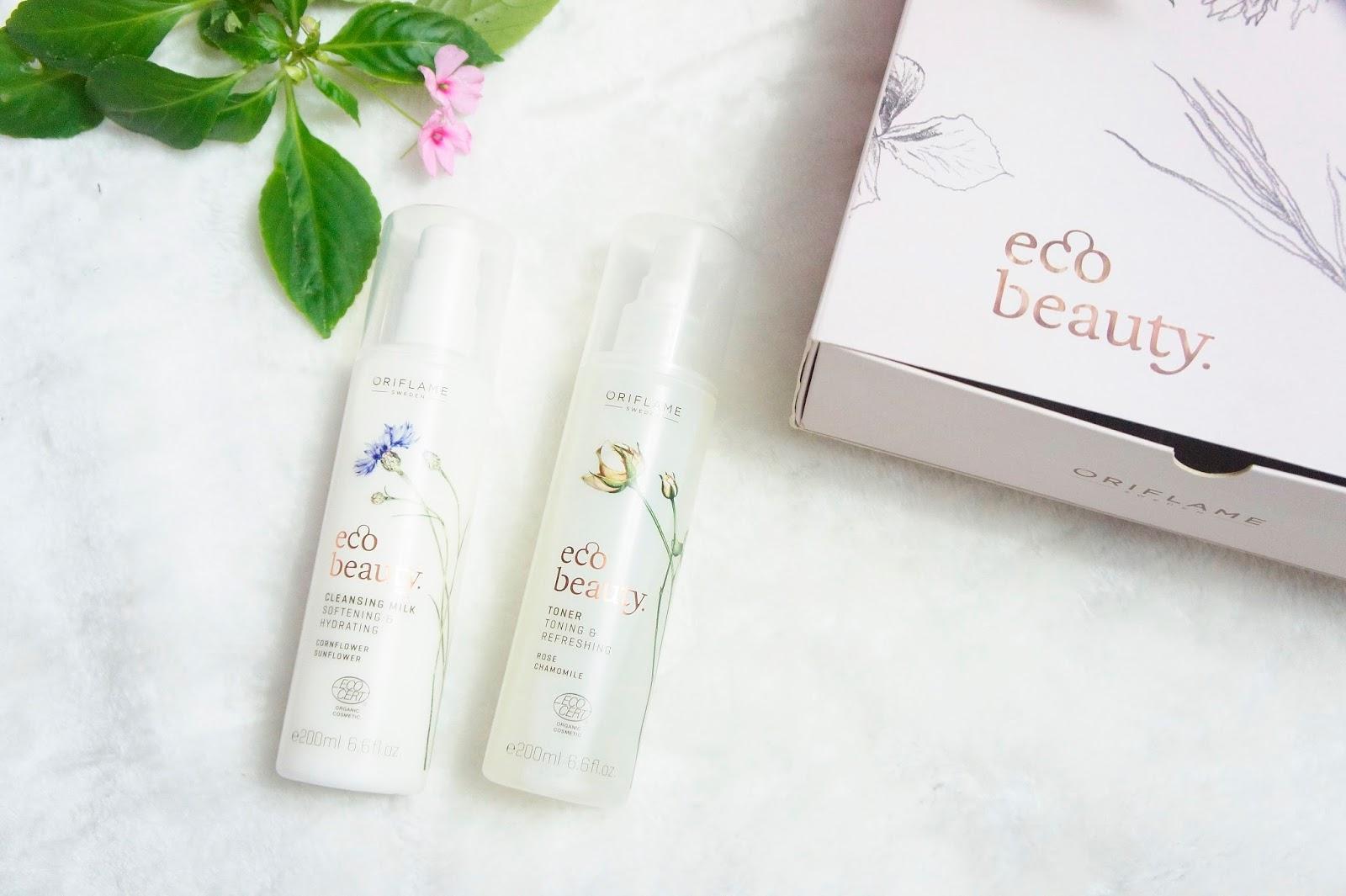 Leche limpiadora y Spray Facial EcoBeauty Oriflame