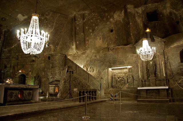 Wieliczka Salt Mine,Poland