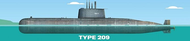 South Korea Has Raced Ahead In Indigenous Submarine Design, While India Lags Behind After Buying Same German HDW Boats In The 80s