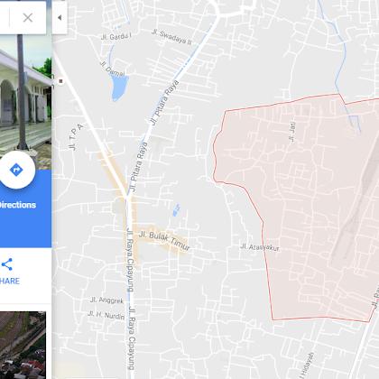 Dibalik nama kawasan Ratu Jaya