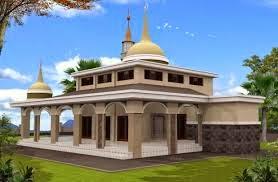 contoh desain mushola minimalis | desain properti indonesia