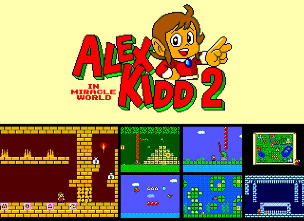 Indie Retro News: Alex Kidd in Miracle World 2 - A fan sequel to a