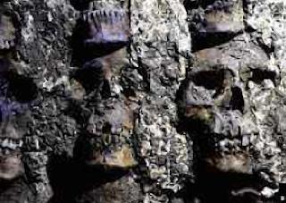 Mexico City Aztec sacrifices