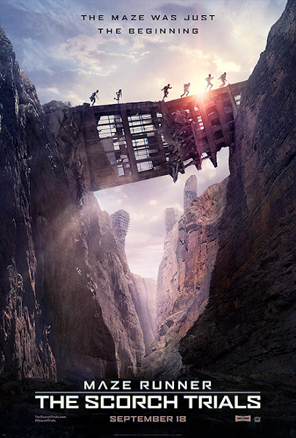 Poster Maze Runner: The Scorch Trials