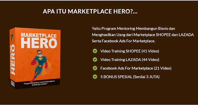 Mentoring Marketplace Lazada Shopee
