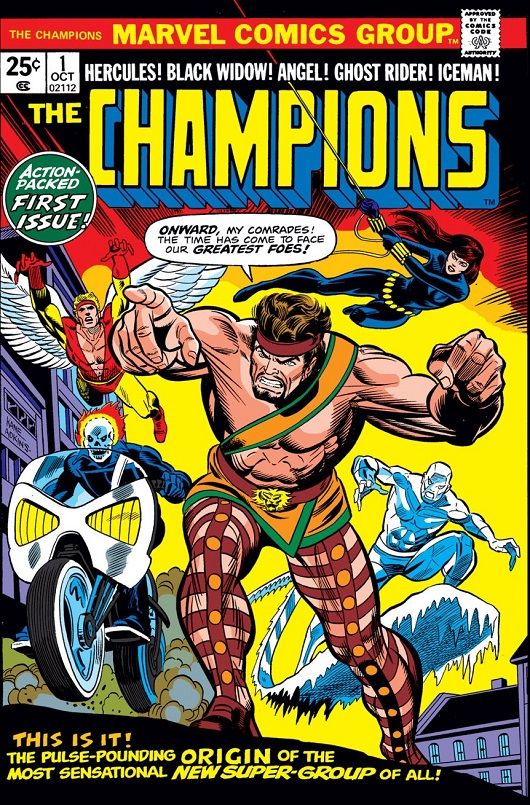 Cover of Champions Vol 1 #1