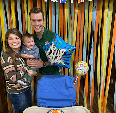 Kade Smith 1st birthday party
