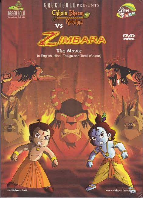 Chhota Bheem Aur Krishna Vs Zimbara Full Movie Images In HD