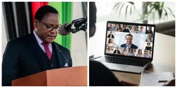 Malawian president under fire for traveling to UK to attend virtual conference