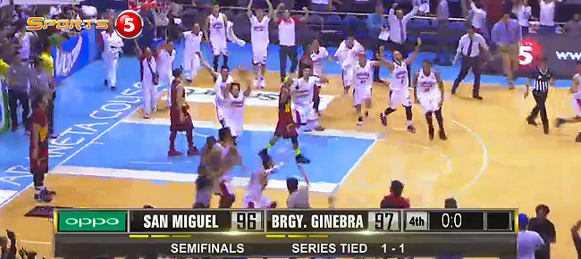 Japeth Aguilar's Game-Winning Buzzer-Beater in Game 3 (VIDEO)